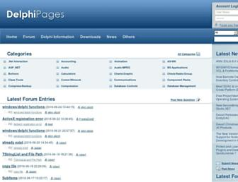 delphipages.com screenshot