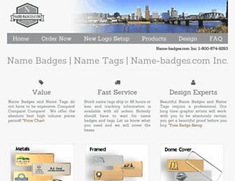 name-badges.com screenshot