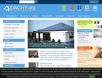 Main page screenshot of dachy.org