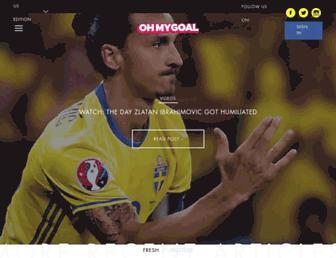 ohmygoal.co screenshot