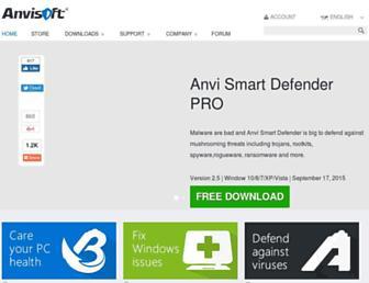anvisoft.com screenshot