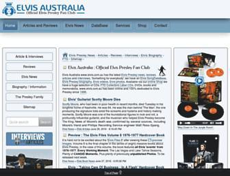 Thumbshot of Elvis.com.au