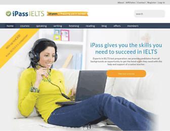 ipassielts.com screenshot