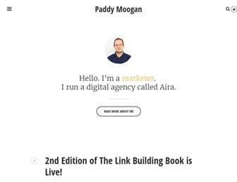 Thumbshot of Paddymoogan.com