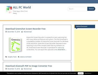 allpcworld.com screenshot