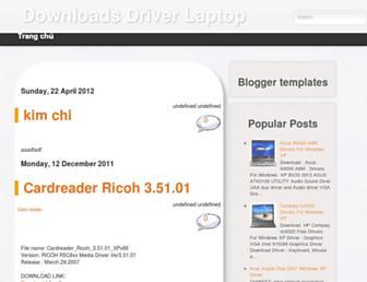downloadsdriverlaptop.blogspot.com screenshot