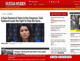Thumbshot of Russia-insider.com