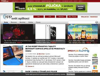 svetaplikaci.tyden.cz screenshot