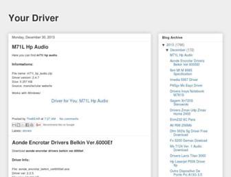 yourdriver26.blogspot.com screenshot