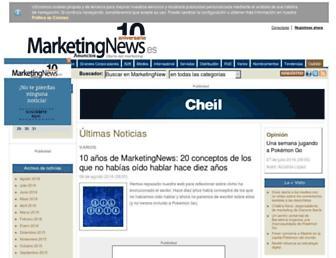 marketingnews.es screenshot