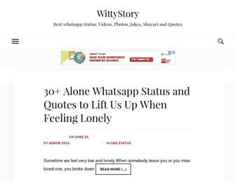 wittystory.com screenshot