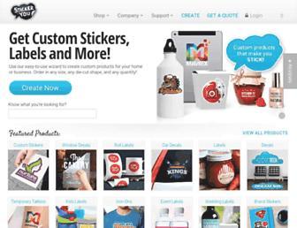 Thumbshot of Stickeryou.com