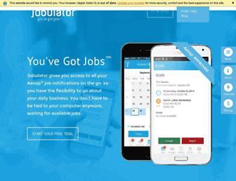 jobulator.com screenshot