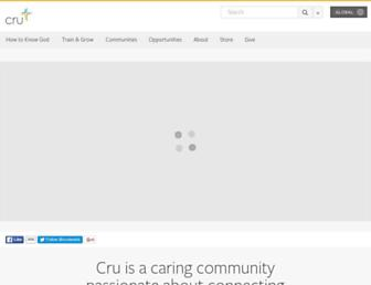 cru.org screenshot