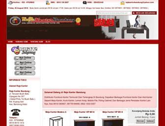 rajakantorbandung.com screenshot