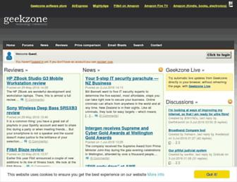 geekzone.co.nz screenshot