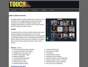 touchjams.com screenshot