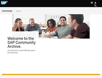 archive.sap.com screenshot