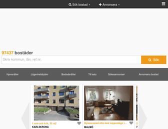 Thumbshot of Bostadsportal.se