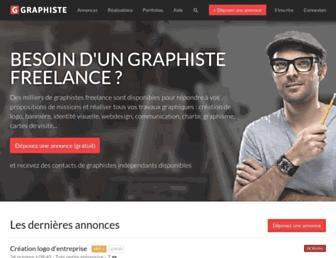 graphiste.com screenshot