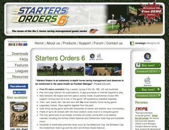 startersorders.com screenshot