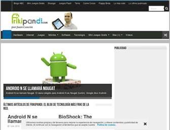 frikipandi.com screenshot