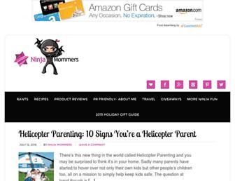 Thumbshot of Ninjamommers.com