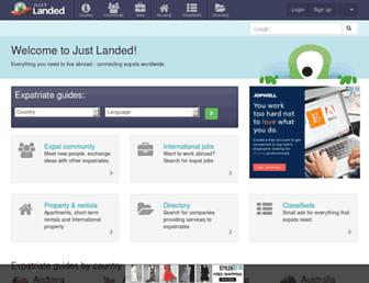 Thumbshot of Justlanded.com