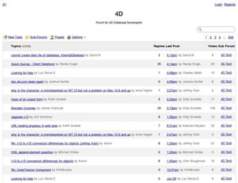 4d.1045681.n5.nabble.com screenshot