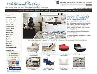 advancedbedding.com screenshot