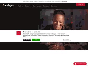kaleyra.com screenshot