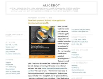 Thumbshot of Alicebot.org