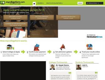 Thumbshot of Mycollegeform.com