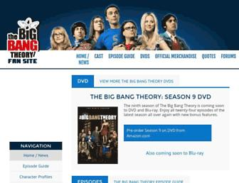 Thumbshot of The-big-bang-theory.com