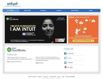 Thumbshot of Intuit.in