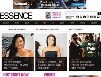 Thumbshot of Essence.com