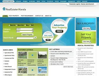 Thumbshot of Realestate4kerala.com