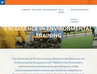 treeo.ufl.edu screenshot