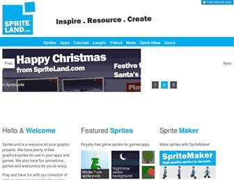 spriteland.com screenshot