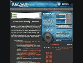blazemp.com screenshot