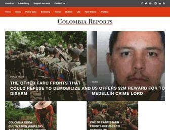 Thumbshot of Colombiareports.co