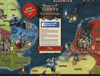 Thumbshot of Thirtykingdoms.com