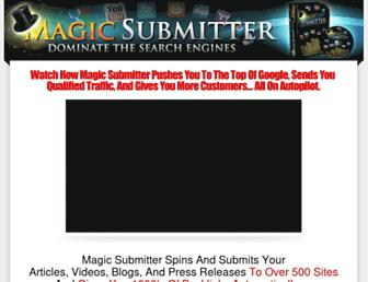 Thumbshot of Magicsubmitter.com
