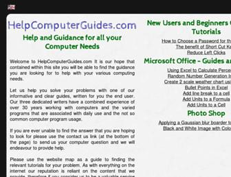 helpcomputerguides.com screenshot