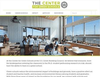 centerforgreenschools.org screenshot