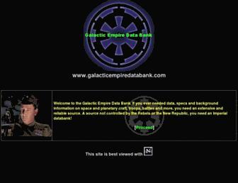 galacticempiredatabank.com screenshot