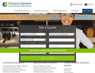 citizensgeneral.com screenshot