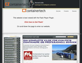 containertech.no screenshot