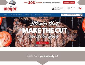 Thumbshot of Meijer.com