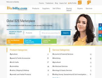 Thumbshot of Bizbilla.com